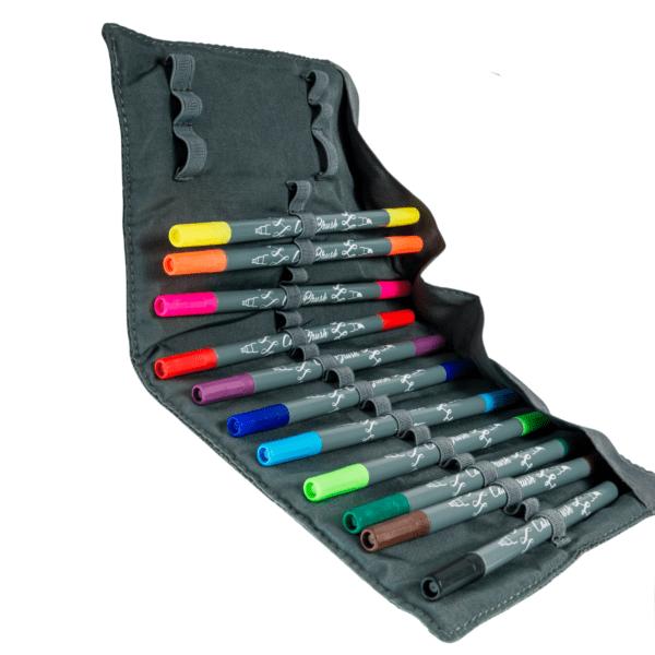 Die Calli.Brush-Rolle von Online-Pen mit 24 Farben bei MiaSkribo.