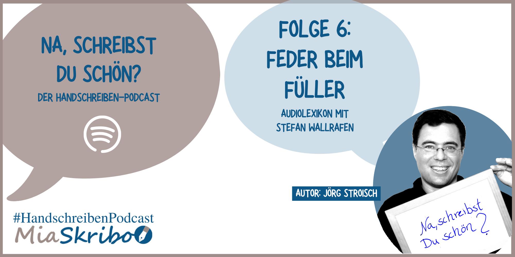"""Stefan Wallrafen gibt bei """"Na, schreibst Du schön?"""" Antworten."""
