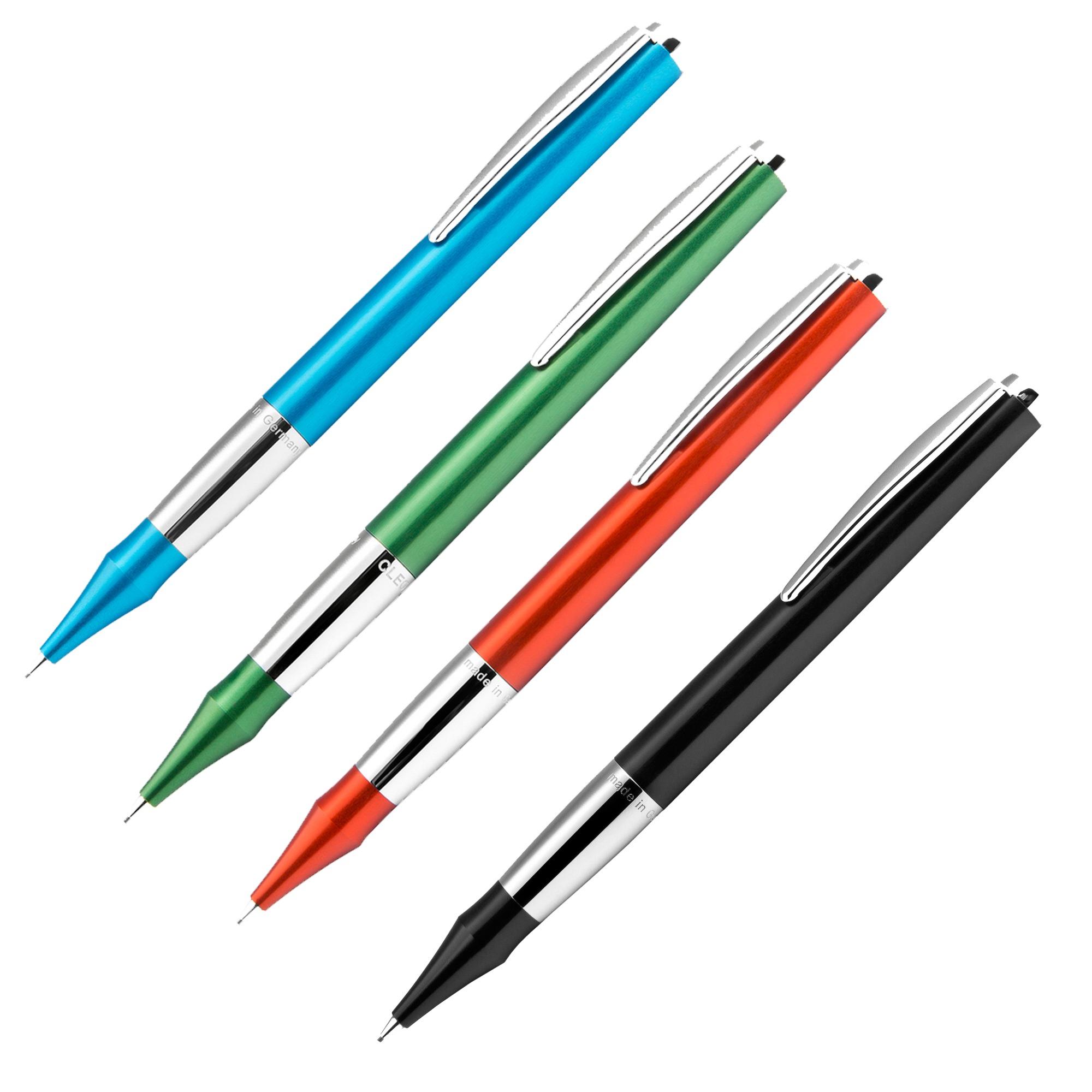 Die Drehbleistifte der Colour-Serie (neu) von Cleo Skribent – hier kaufen bei MiaSkribo