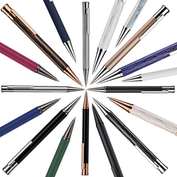 Die Bleistifte der Serie Design 04 von Otto Hutt – hier kaufen bei MiaSkribo