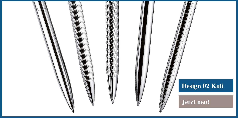 Der Kugelschreiber Design 04 von Otto Hutt - in 5 Varianten erhältlich