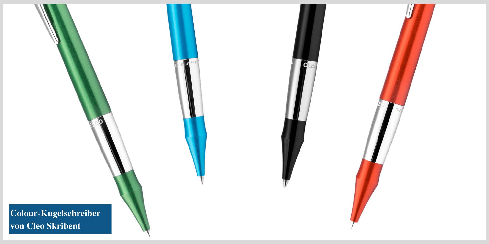 Der Colour Drehkugelschreiber von Cleo Skribent