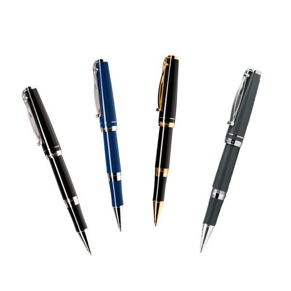Die Tintenroller Skribent von Cleo Skribent - erhältlich in vier Farbvarianten bei MiaSkribo
