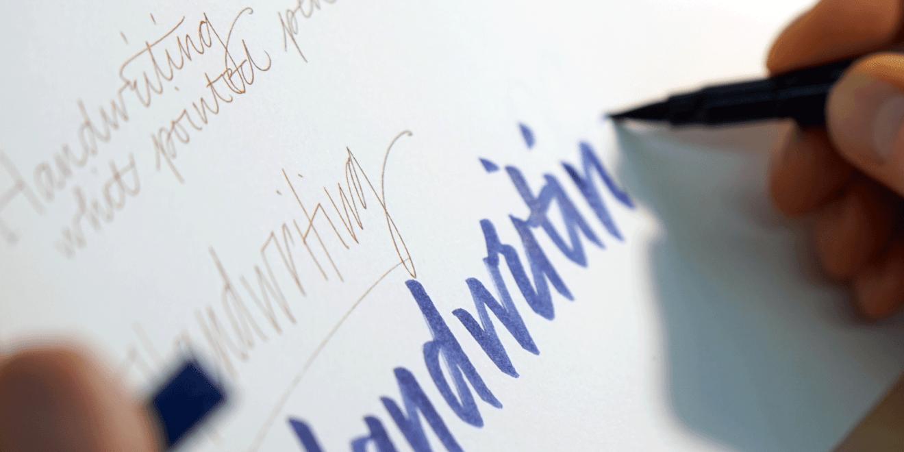 Das Schreiben mit der Hand ist und bleibt eine wichtige Kulturtechnik