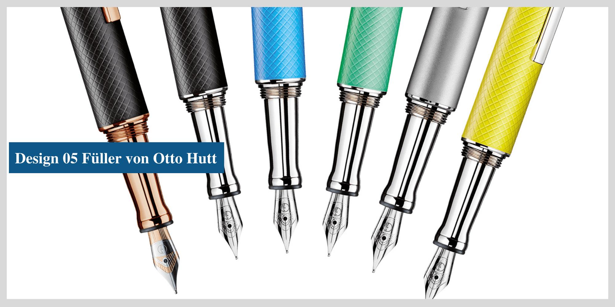 Der Design-05-Füller von Otto Hutt - jetzt auch bei MiaSkribo in Köln erhältlich.