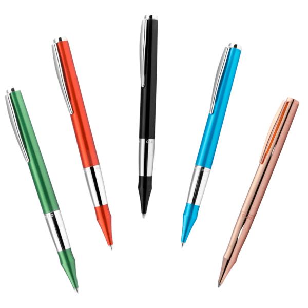 Die Varianten des Colour Kugelschreibers von Cleo Skribent.
