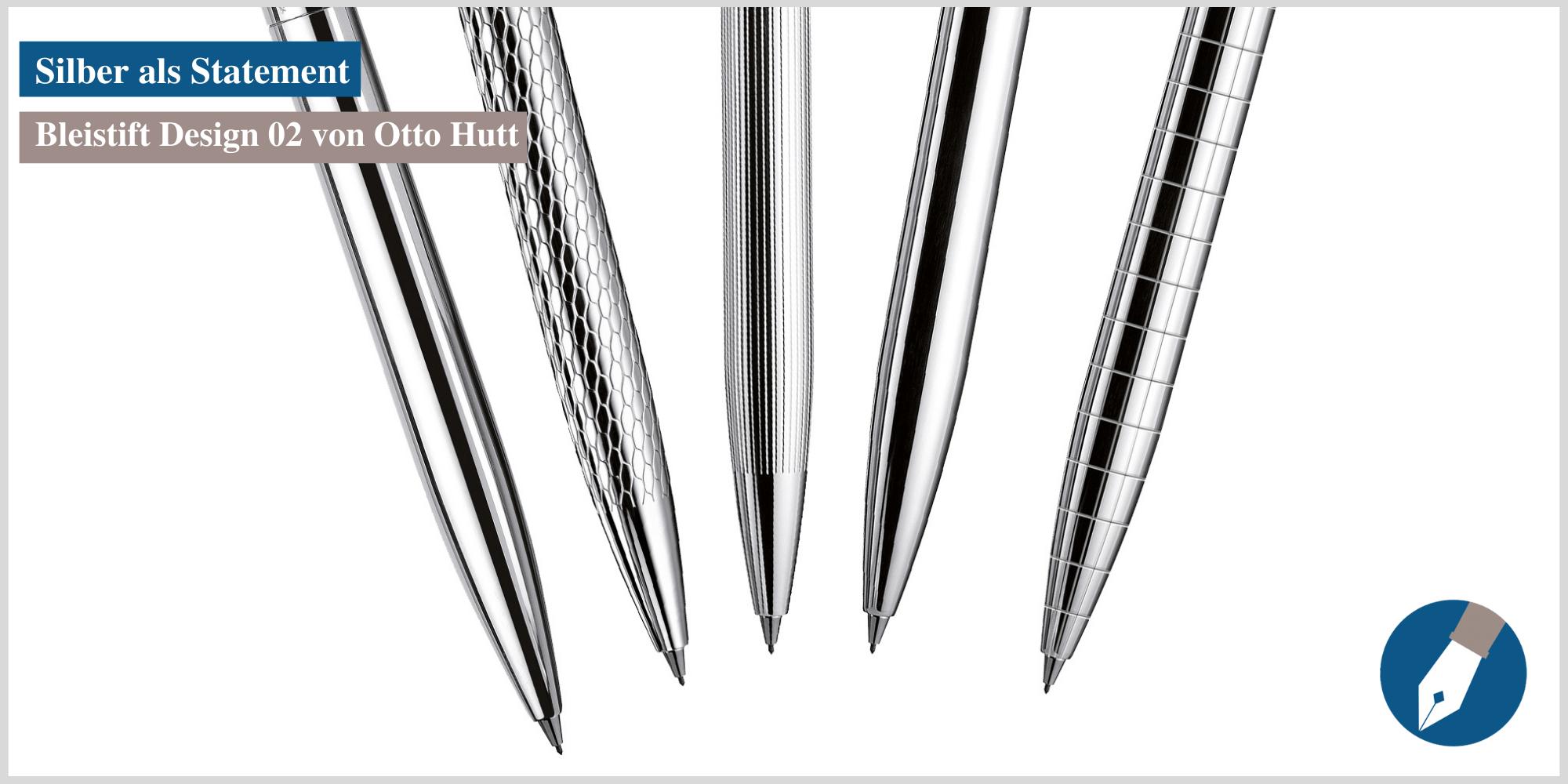Der Bleistift Design 02 von Otto Hutt - jetzt bei MiaSkribo online erhältlich.