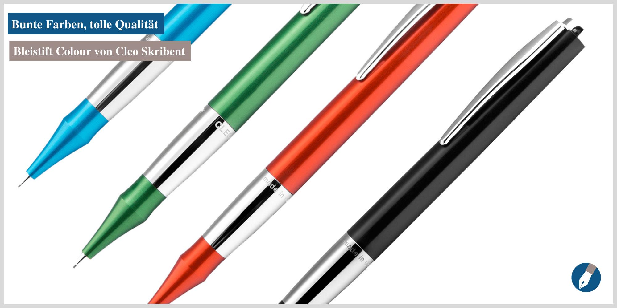 Nun online kaufbar: Der Colour-Bleistift von Cleo Skribent.