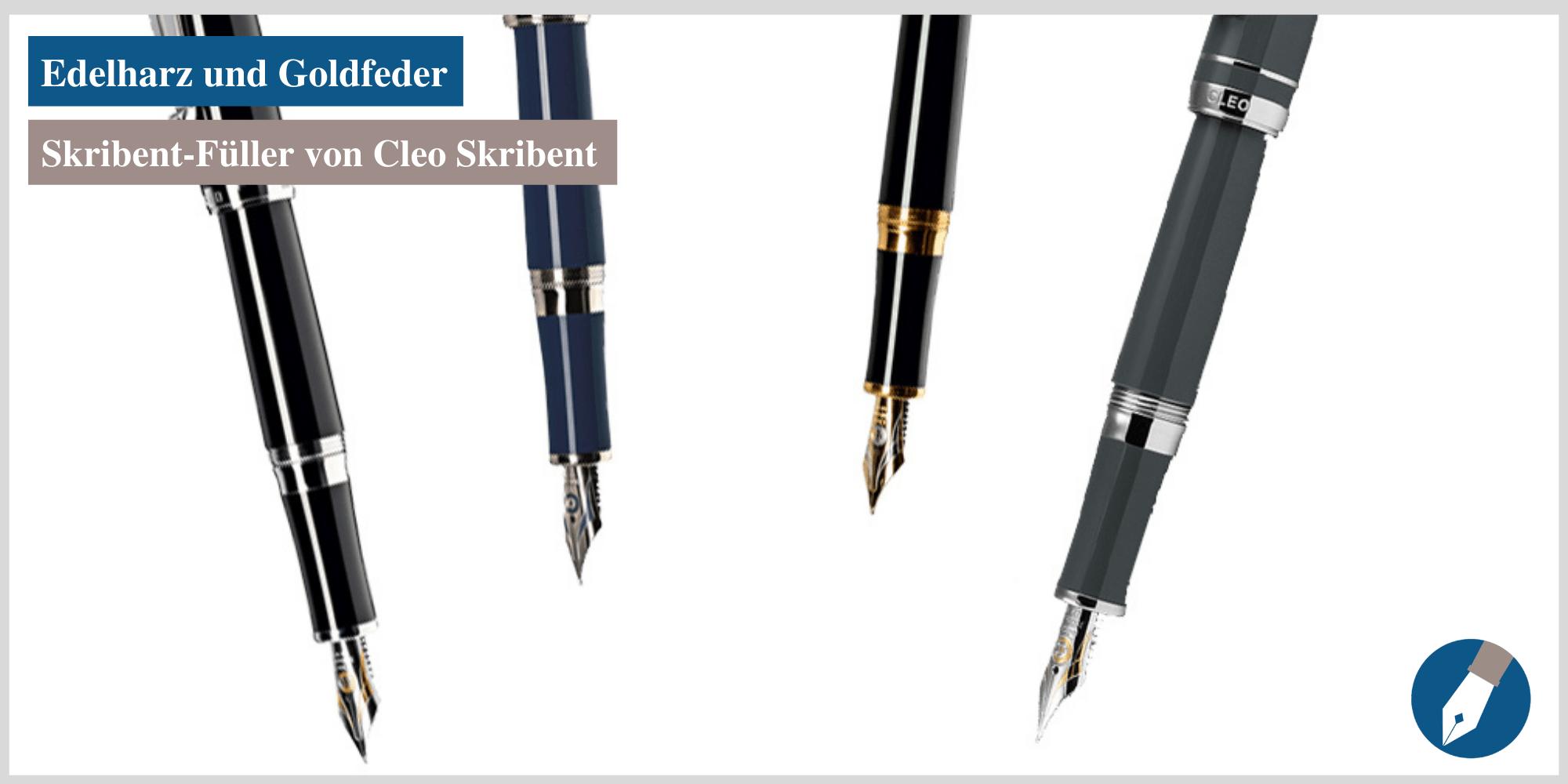 Der Skribent-Füller - nun auch in Grau bei MiaSkribo erhältlich.