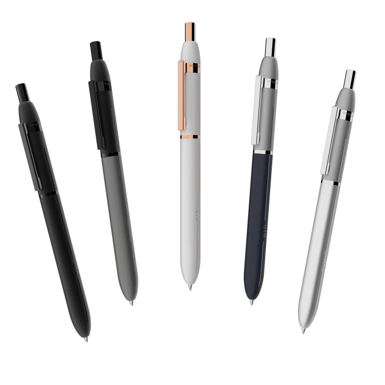 Der Kugelschreiber Design 03 von Otto Hutt - erhältlich bei MiaSkribo.