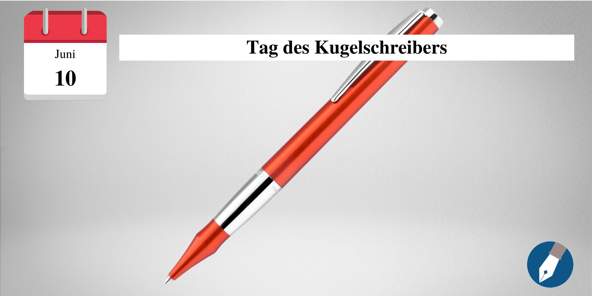 Der Tag des Kugelschreibers erinnert an die Eintragung des US-Patents.