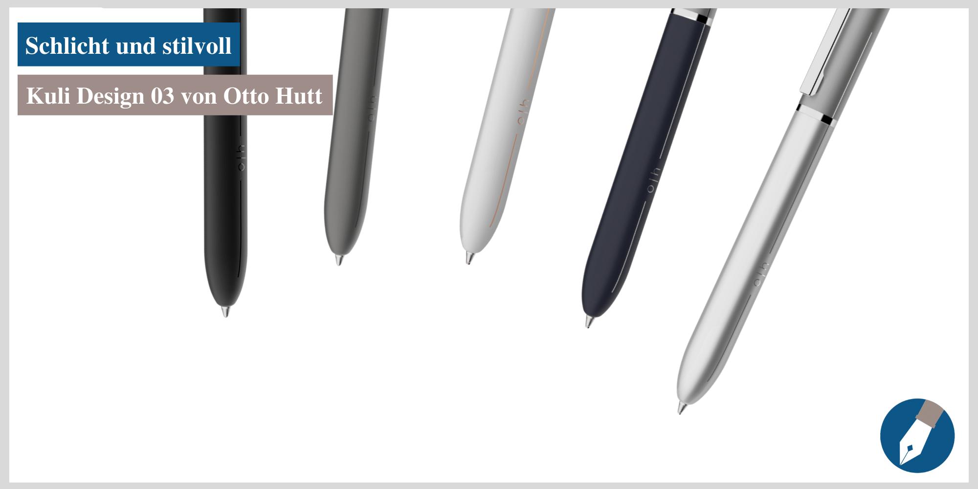 Der Kugelschreiber Design 03 von Otto Hutt ist jetzt auch in Köln erhältlich.