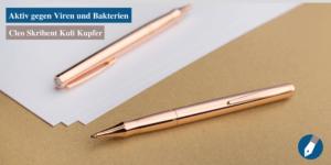 Den Kugelschreiber Colour von Cleo Skribent gibt es nun in einer neuen Variante: Kupfer.